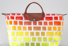 Haute buy: Longchamp Jeremy Scott Clavier Travel Tote Bag