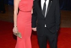 Tracy Pollan and Michael J. Fox at the White House Correspondents' Association Dinner