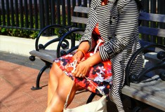 My style: Florals & stripes mix + get the look!