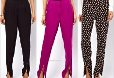 Haute buy: ASOS Peg Pants with Zip Front Detail