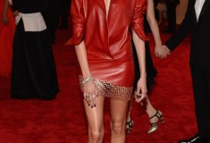 "Anja Rubik ""PUNK: Chaos To Couture"" Costume Institute Gala"