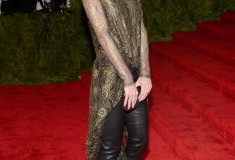 Hilary Rhoda in Wes Gordon