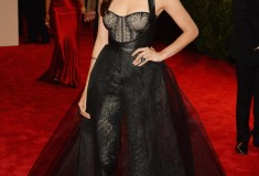 "Nina Dobrev ""PUNK: Chaos To Couture"" Costume Institute Gala"