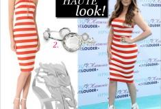 "Get her haute look: Khloe Kardashian in Robert Rodriguez & Kanye West x Giuseppe Zanotti ""Cruel Summer"" heels"