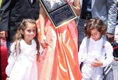 Jennifer Lopez is honored with the 2500th star on the 'Hollywood Walk of Fame' in Hollywood