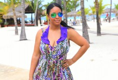 My style: Orthaheel sandals on the sandy beaches of Aruba