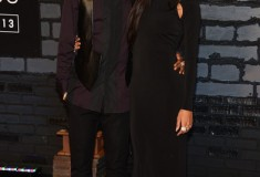 Big Sean and Naya Rivera attend the 2013 MTV Video Music Awards