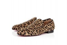 Christian Louboutin ROLLERBOY SPIKE PRINTED PONY