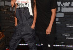 Willow Smith and Jaden Smith attend the 2013 MTV Video Music Awards