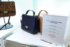 Fossil handbags at Vogue styling event