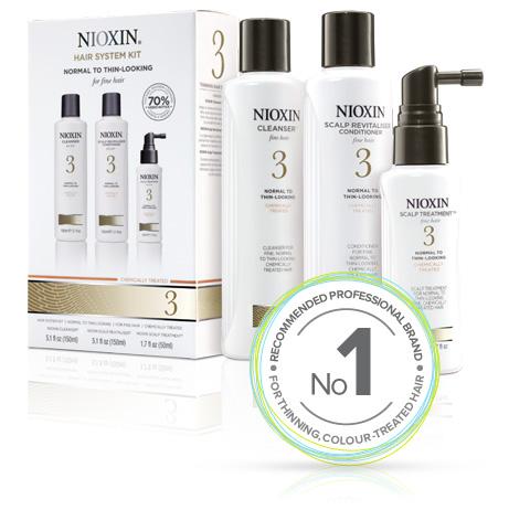 Nioxin Thinning Hair System Kit 3