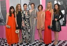 Betty Autier, Chiara Ferragni, Linda Li, Coco Rocha, Chriselle Lim, Jessica Stein, Camila Coutinho in DVF