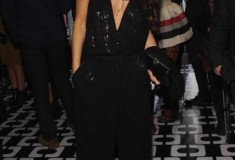 Demi Moore in a DVF Sequin Jumpsuit