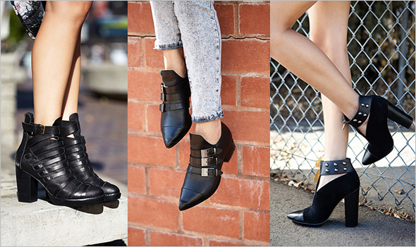 Forever 21 premium leather footwear collection