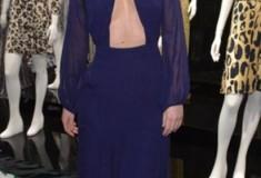 Iggy Azalea in a DVF Spring '14 Gown