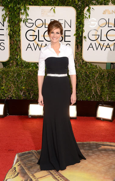 Julia Roberts at the 71st Annual Golden Globe Awards