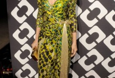 Marisa Tomei in a vintage DVF Wrap Dress