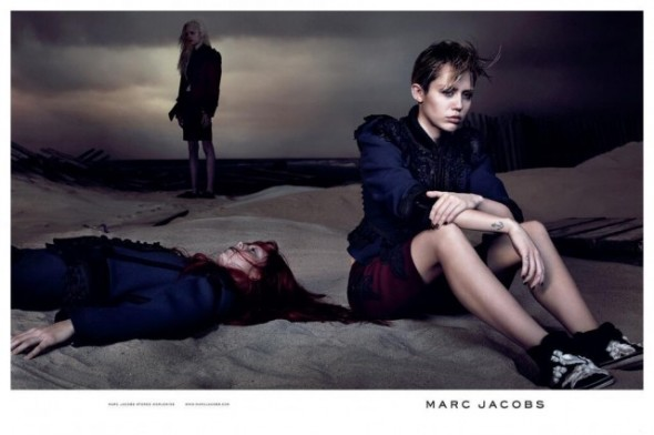 Miley Cyrus for Marc Jacobs Spring 2014 ad