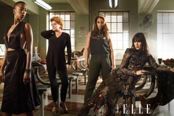 Orange Is the New Black in ELLE