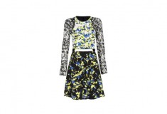 Peter Pilotto x Target Dress green floral print