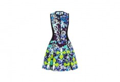 Peter Pilotto x Target Dress purple floral print