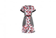 Peter Pilotto x Target Dress red floral check print
