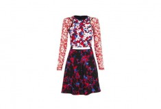 Peter Pilotto x Target Dress red floral print