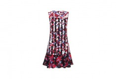 Peter Pilotto x Target Dress red floral stripe print