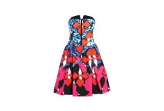 Peter Pilotto x Target Dress red iris print