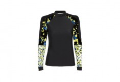 Peter Pilotto x Target Rash Guard black green