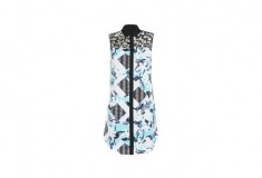 Peter Pilotto x Target Shirt Dress blue floral