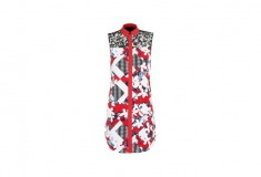 Peter Pilotto x Target Shirt Dress red floral