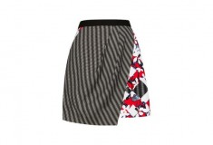 Peter Pilotto x Target Skirt red floral check