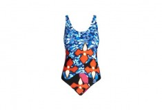 Peter Pilotto x Target Swimsuit red iris