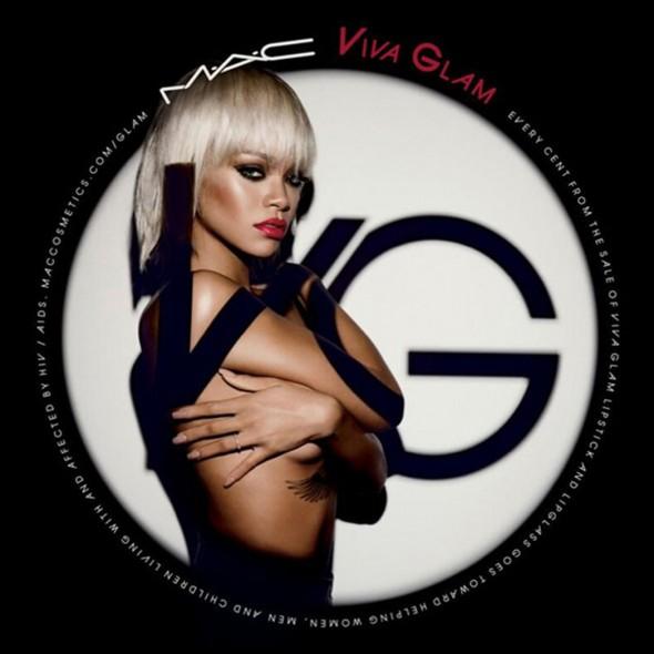 MAC VIVA GLAM Rihanna ad campaign