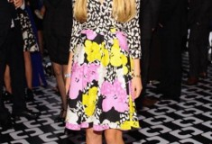 Talita von Furstenberg in the DVF Pop Wrap Limited Edition Amelia Wrap Dress