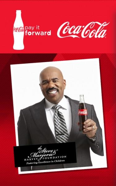 Steve Harvey Coca-Cola Pay It Forward