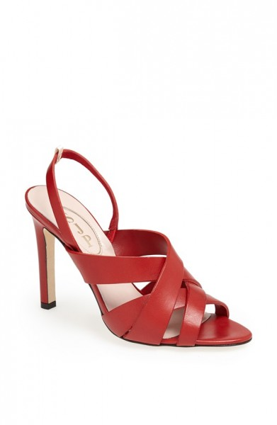 SJP by Sarah Jessica Parker Stella Sandal in red