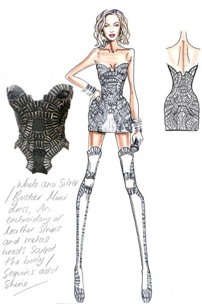 Atelier Versace designs tour costumes for Beyonce