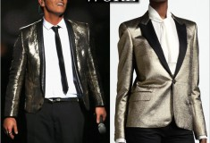 What He Wore: Bruno Mars in Saint Laurent