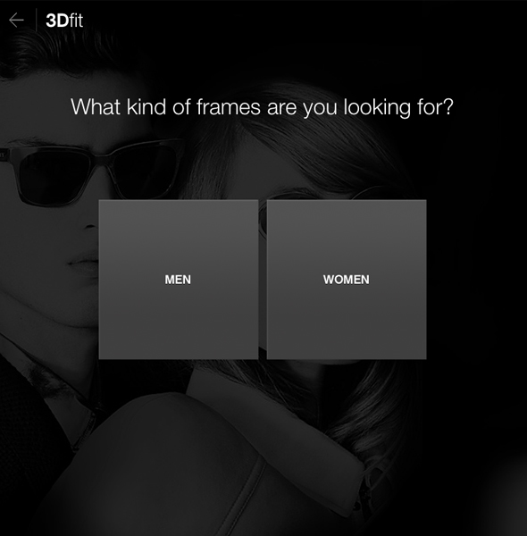 Glasses.com virtual try-on app: What kind of frames are you looking for?
