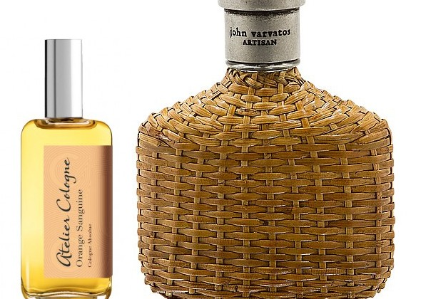 Atelier Cologne Orange Sanguine and John Varvatos Artisan Cologne