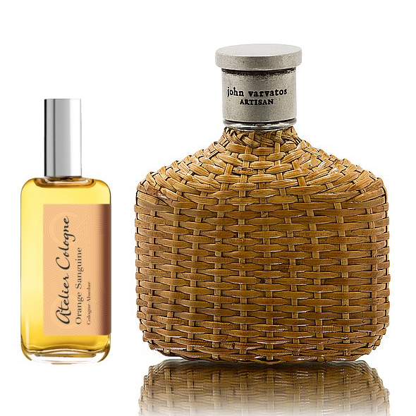 His and hers winter fragrances - Atelier Cologne Orange Sanguine and John Varvatos Artisan Cologne