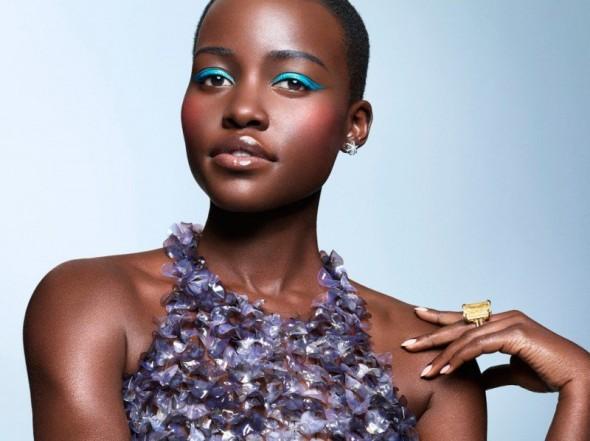 Lupita Nyong'o in Essence Magazine March 2014