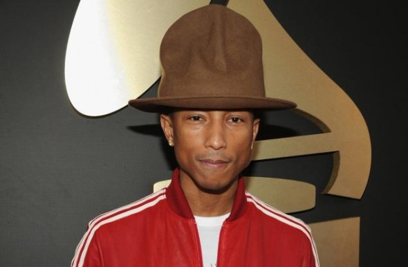 Pharrell's Grammys hat Vivienne Westwood Mountain hat