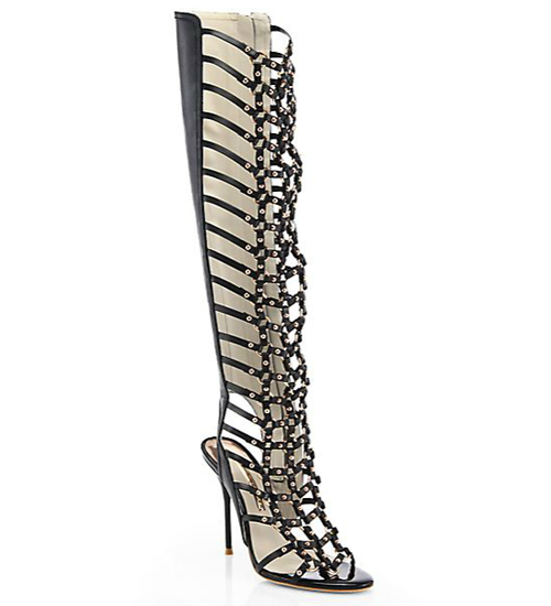 Sophia Webster Fantasia Leather Gladiator Sandal Boots