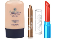 Drugstore finds: CoverGirl CG Smoothers Liquid Foundation, truBlend Fixstick Concealer, Lipslicks Smoochies Lip Balm in Tweet Me