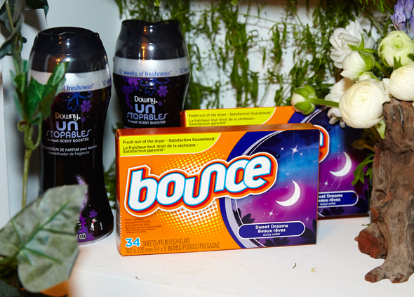 Tuck In. Turn Off. with the Tide, Downy Unstopables & Bounce Sweet Dreams Collection