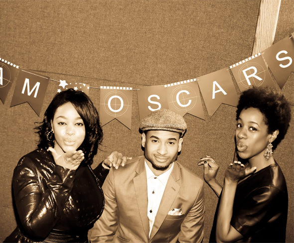 Glam Oscars Viewing Party: What's Haute, Simply Dapper, Temple of Glam bloggers