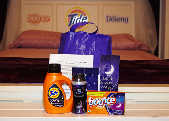 Tuck In. Turn Off. with the Tide, Downy & Bounce Sweet Dreams Collection